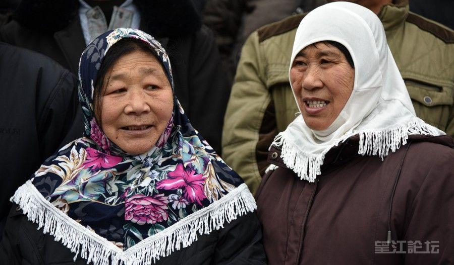 民族团结人增寿•望江县漳湖镇回族老人全家福