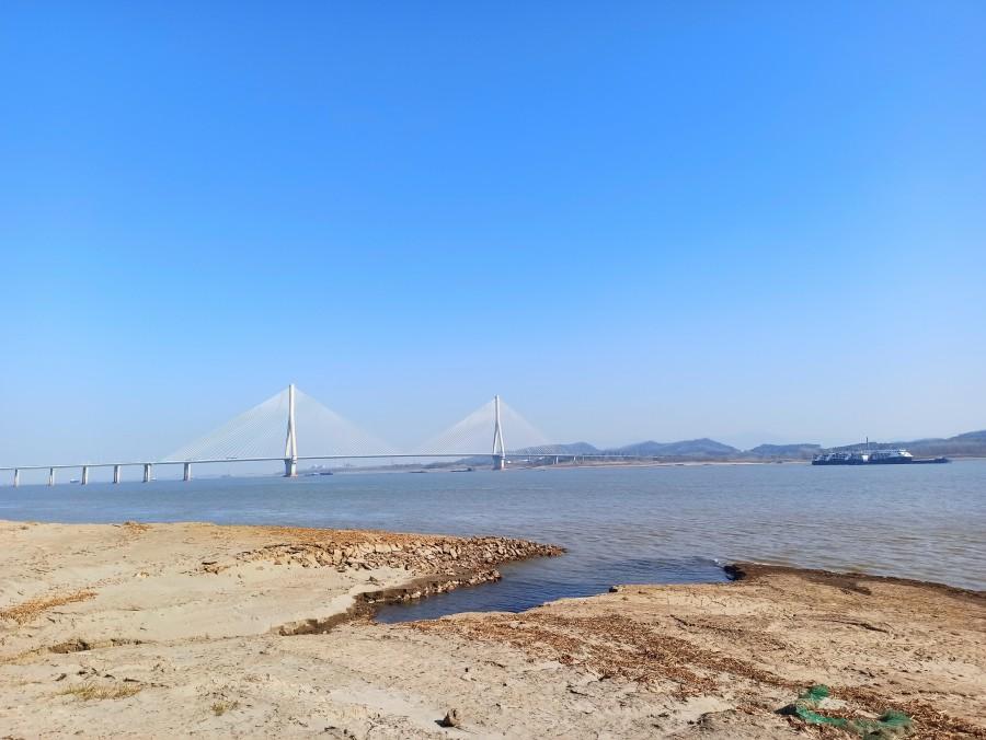 望东长江大桥 手机拍摄